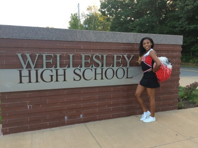 Jayla Glover is working to bring back a cheer program that's been defunct since her freshman year. Courtesy photo